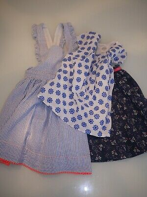3 x Girls Clothing skirt dress top ages 2-3 years old - Mini Boden Little White