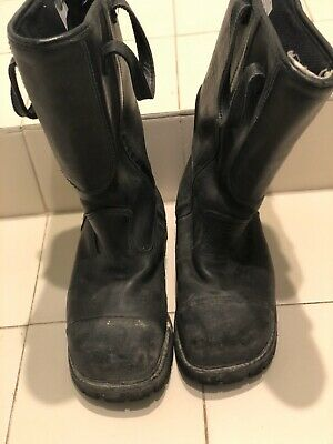 Men's Thorogood Hellfire Structural Firefighter Boots USA Size 10.5  XW