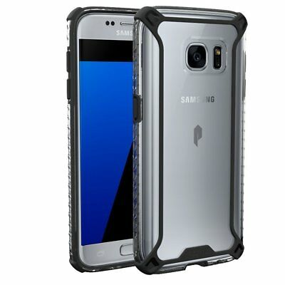 Samsung Galaxy S7 Case,Poetic® Rugged Lightweight Clear Bumper Shockproof Cover