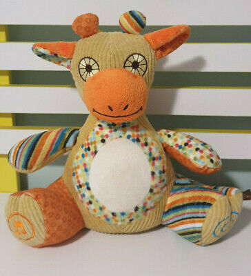 Mybaby Homedics Giraffe Plays Music And White Noise Soother 2012