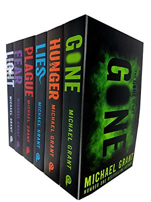 Gone Series Michael Grant Collection 6 Books Set New cover Light, Gone, Hunger,