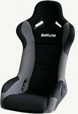 Buddy Club Racing Spec Bucket Seat (Wide) Black