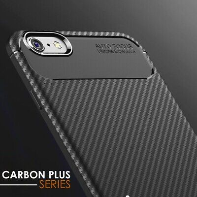 Case for iPhone 7 Luxury Carbon Fiber Soft TPU Silicone Thin Cover