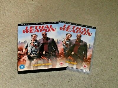 Lethal Weapon The Complete Season One Region 2 Dvd - Bought New & Watched Once