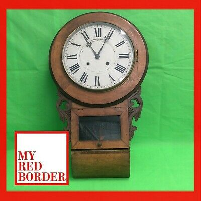 Superior 8 Day Anglo American Clock Fitted with Standard American Movement