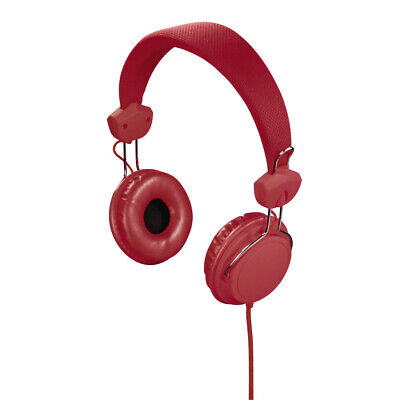 Casque Stereo Joy, Rouge