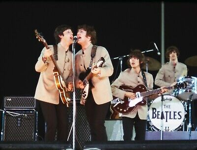 The Beatles Live at Shea 24x36 Poster