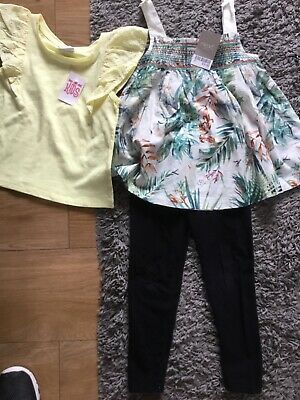 Bnwt Girls Next Top /Teeshirt Also Leggings Size 4/5 years