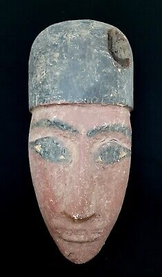 Egyptian Rare Large Royal Wooden Antique Priest Very Burial Sculpture Statue art