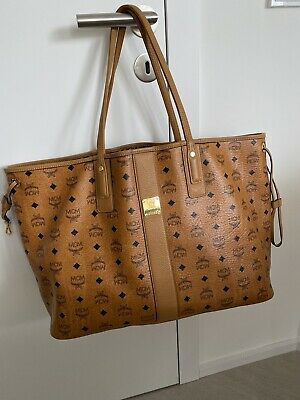 ORIGINAL MCM VISETOS Liz Project Shopper Tasche Medium
