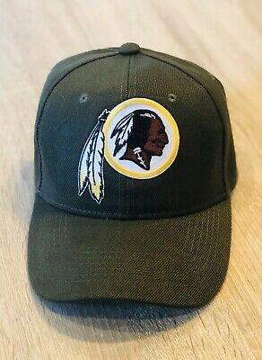 NFL SALUTE TO SERVICE CAMO WASHINGTON REDSKINS Cap Hat 2019 Patch Style 100th