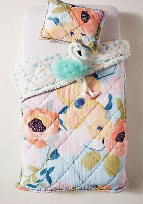 NEW Anthropologie KT Small Sweetgale Baby Toddler Quilt