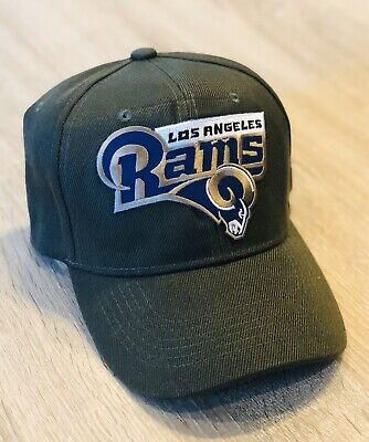 NFL SALUTE TO SERVICE Style CAMO GREEN LOS ANGELES RAMS Cap Hat 2019 Patch 100