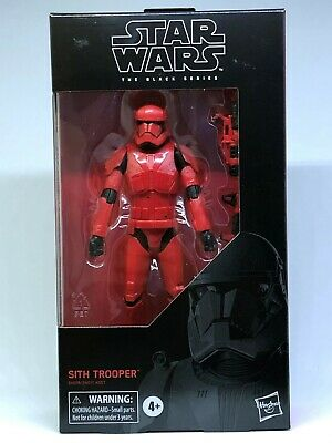 "Hasbro Star Wars The Black Series 6"" Action Figure Sith Trooper"
