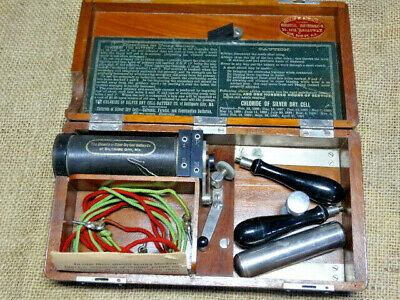 Antique Quack Medicine Electro-Shock Therapy Phillip H. Schmidt 1886