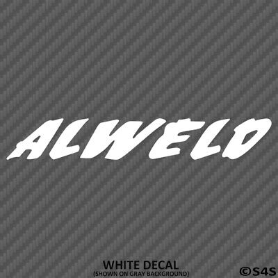 Alweld Boats Car/Truck Decal Outdoors Sports & Boating - Choose Color/Size