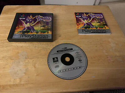 Spyro The Dragon Sony PS1 Complete PAL