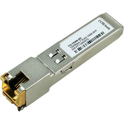 Fortinet FG-TRAN-GC network transceiver module Copper 1000 Mbit/s SFP