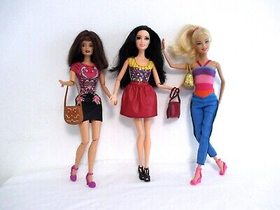 Barbie Raquelle Style Stylin Friends Doll Articulated + Barbie & Theresa