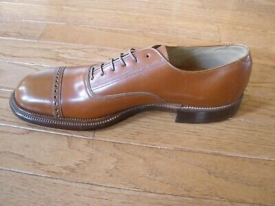 Early 1900's MEN'S DRESS SHOE - French, Shriner, & Urner Co - Salesman Sample