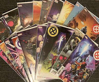 House of X & Powers of X Lot of 20 J. Hickman X-Men Huddleston Young Variant