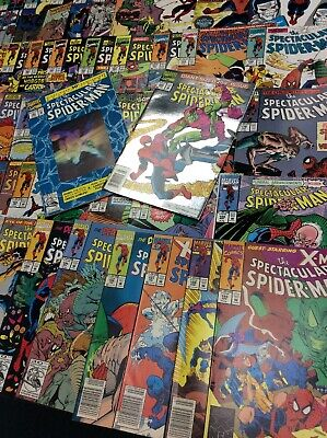 PETER PARKER SPECTACULAR SPIDER-MAN #150- 200 MARVEL  Comic Book LOT 50 ISSUES