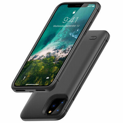 Luxury For iPhone 11 Pro Max Battery Charger Case  Power Backup Pack Bank Cover