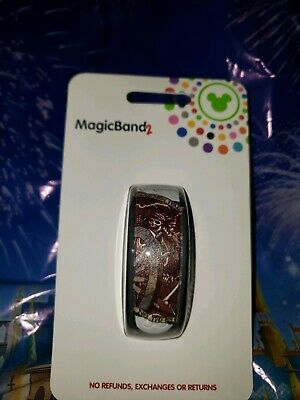 Disney Parks PIRATES  OF THE CARIBBEAN DEAD MEN TALES WHITE Magic Band Magicband