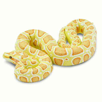 Incredible Creatures Albino Burmese Python Safari Ltd New Educational Toy Figure