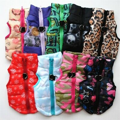 Pet Dog Cat Coat Jacket Supplies Clothes Winter Apparel Clothing Puppy Costume
