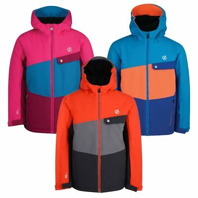 Dare 2B Kids Winter Padded Jacket Waterproof Ski Insulated Coat Warm Hoodie Wres