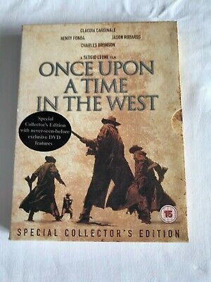 Once Upon a Time in the West 2 Discs 15 Western Special Collector's Ed. Free P&P