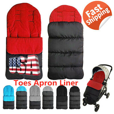Baby Toddler Footmuff Cosy Warm Toes Apron Liner Buggy Pram Stroller Universal