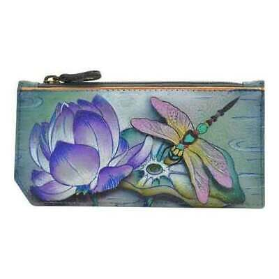 Anuschka Women's   RFID Blocking Card Case With Coin Pouch