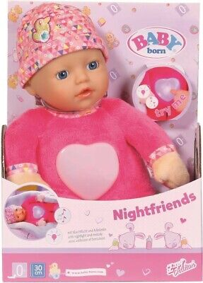 NEW Baby Born Nightfriends For Babies 30Cm from Mr Toys