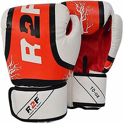 Kids Boxing Gloves MMA Training Junior Pro Leather Punch Bag Muay thai Glove