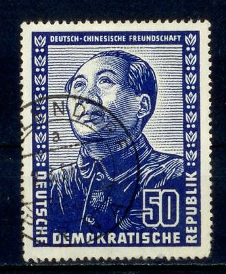 Germany East DDR 1951 German Chinese Friendship Mao Tse-Tung Used S2873