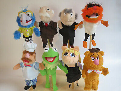 muppets guys in the balcony COMPLETE SET MUPPETS With Tag Hand Puppets From Holland 8x