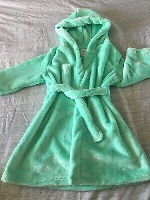 Luxury Soft Girls Dressing Gown Age 4-5