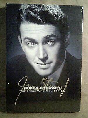 The James Stewart Signature Collection - Reg 1 - 6 DVD Box Set - New/Sealed