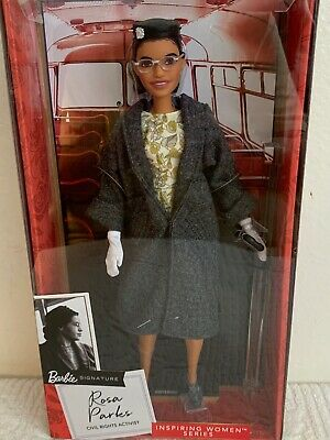 Barbie Signature Doll ~Rosa Parks Civil Rights Activist Inspiring Women MIB.New.