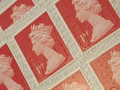 500 x 1st FIRST CLASS STAMP  FIRST CLASS STAMPS BRAND NEW BOOKLETS OF 12