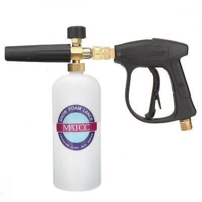 "MATCC Snow Foam Cannon Lance Bottle with 1/4"" Wash Gun and"