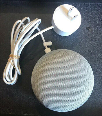 Google Home Mini Chalk HOA PERSONAL ASSISTANT VOICE ACTIVATED