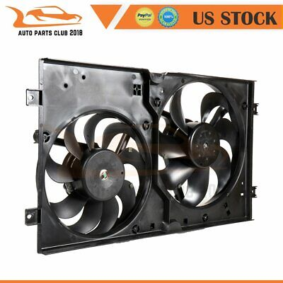 A//C Condenser Cooling Fan For 99-2005 Volkswagen Jetta 98-2006 Beetle Right Side