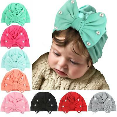 Handmade Baby Girls Large Bow Headband Infant Toddler Cute Hair Band Head Wrap