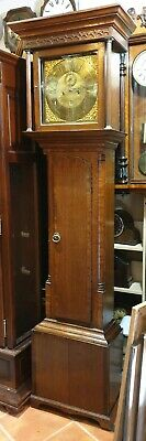 Antique 8 Day Grandfather Clock. - Delivery Arranged