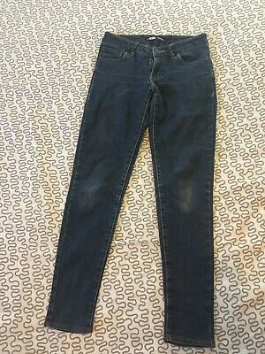 Levis 14 Years Skinny Fit Blue Jeans Boys Girls Unisex Kids