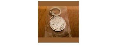 Jack Daniels Old No7 Metal Double Sided Key Ring Brand New In Wrapper! Only£1.99