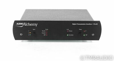 Audio Alchemy Digital Transmision Interface Pro 32 Jitter Filter; D/D Converter